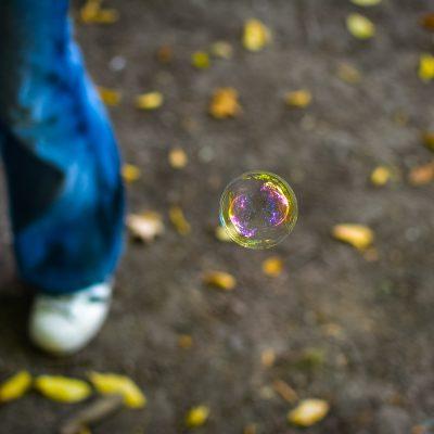 Flared bubble
